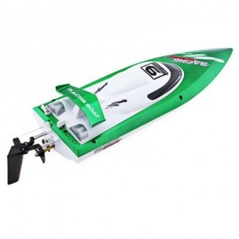 image of FEI LUN FT009 2.4G RC RACING BOAT HIGH SPEED YACHT (GREEN) 0
