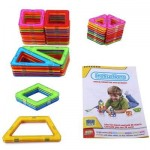 YISILE Y881 MAGIC MAGNETIC BLOCK EDUCATIONAL TOY 62PCS / SET (COLORMIX) -