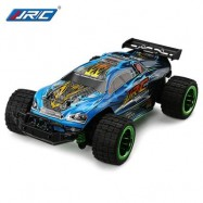 image of JJRC Q36 1:26 MINI BRUSHED OFF-ROAD RC RACING CAR RTR 30KM/H+ FAST SPEED / ALUMINUM ALLOY CHASSIS / LCD SCREEN TRANSMITTER (BLUE) -