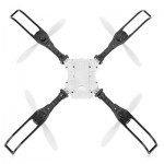 FLYTEC T15 FOLDABLE RC QUADCOPTER 0.3MP 4CH WIFI CAMERA (WHITE) 0