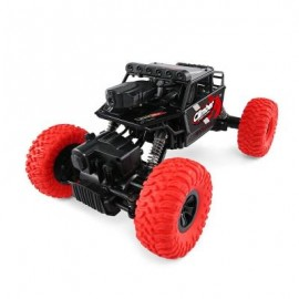 image of JJRC Q45 1/18 2.4GHZ 4WD RC OFF-ROAD CAR WIFI FPV 480P CAMERA / APP CONTROL / INDEPENDENT SUSPENSION SYSTEM (RED) 0