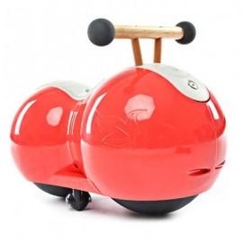 image of CHILDREN PEANUT GOURD DESIGN BABY INFANT TWISTING CAR DRIFT WALKER (RED) One Size