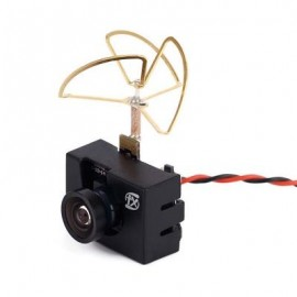 image of FX798T 5.8G 25MW 40CH AV TRANSMITTER WITH 600TVL CAMERA FOR FPV RC MULTIROTOR (COLORMIX) -