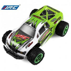 image of JJRC Q35 1:26 MINI BRUSHED OFF-ROAD RC MONSTER TRUCK RTR 30KM/H+ FAST SPEED / ALUMINUM ALLOY CHASSIS (GREEN) -
