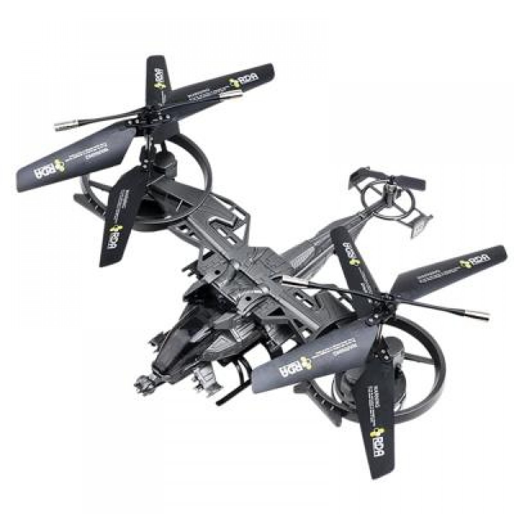 ATTOP 711 AVATAR REMOTE CONTROLLED AIRCRAFT (GRAY) 0