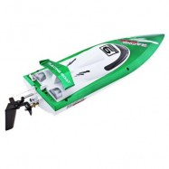 image of FEILUN FT009 2.4G RC RACING BOAT HIGH SPEED YACHT (GREEN) -