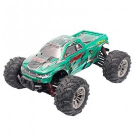 image of XINLEHONG TOYS 9130 1:16 BRUSHED OFF-ROAD RC CAR RTR 4WD 32KM/H FAST SPEED (GREEN) 0