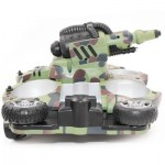 24883A 2.4GHZ WIRELESS RC TANK WIRELESS WATER / LAND MODE BB BULLET SHOOTING WITH LED LIGHT 24.00 x 24.00 x 16.00 cm