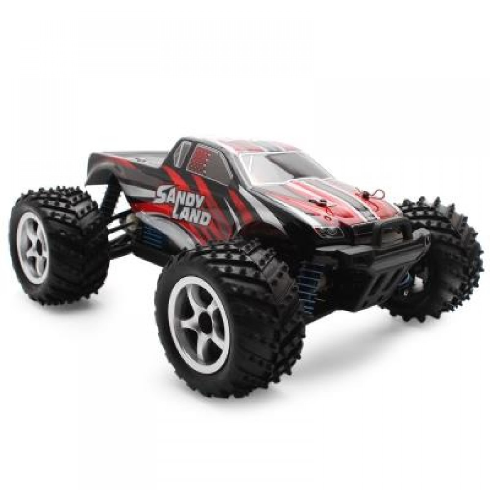 PXTOYS 9300 1:18 4WD RC RACING CAR RTR 40KM/H / 2.4GHZ FULL PROPORTIONAL CONTROL (RED) -