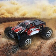 image of LBTOYS LB85 1 / 18 FULL SCALE 4WD 2.4GHZ HIGH SPEED REMOTE CONTROL CAR RTR (RED) -