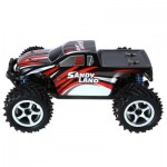 LBTOYS LB85 1 / 18 FULL SCALE 4WD 2.4GHZ HIGH SPEED REMOTE CONTROL CAR RTR (RED) -