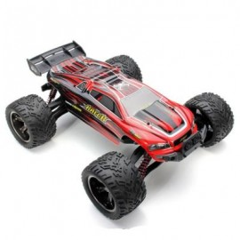 image of 9116 1 / 12 SCALE 2.4G 4CH RC TRUCK CAR TOY WITH 2 - WHEEL DRIVEN ELECTRIC RACING TRUGGY (RED) -