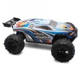 image of PXTOYS 9302 1:18 OFF-ROAD RC RACING CAR RTR 40KM/H / 2.4GHZ 4WD / STEERING SERVO (BLUE) -