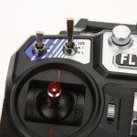 FLYSKY FS - I6 2.4GHZ 6CH TRANSMITTER WITH LCD DISPLAY FOR RC AIRCRAFT MODELS (BLACK) -