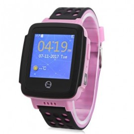 image of TENCENT QQ C002 CHILDREN SMART WATCH TELEPHONE (PINK) 0