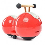 image of YIHANG CHILDREN PEANUT GOURD DESIGN BABY INFANT TWISTING CAR DRIFT WALKER (RED) -