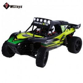 image of K959 2.4GHZ 1:12 2WD BRUSHED ELECTRIC RTR 40KM/H REMOTE CONTROL CLIMB TRUCK OFF-ROAD VEHICLE TOY (GREEN) 43.00 x 21.50 x 18.00 cm