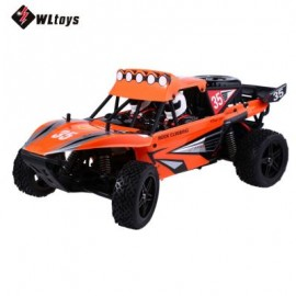 image of K959 2.4GHZ 1:12 2WD BRUSHED ELECTRIC RTR 40KM/H REMOTE CONTROL CLIMB TRUCK OFF-ROAD VEHICLE TOY (ORANGE) 43.00 x 21.50 x 18.00 cm