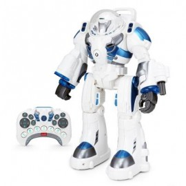 image of RASTAR RADIO CONTROL ASTRONAUT TOY ROBOT FOR BIG KIDS (WHITE) 0
