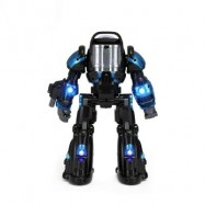 image of RASTAR RADIO CONTROL ASTRONAUT TOY ROBOT FOR BIG KIDS (BLACK) 0