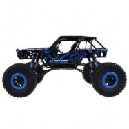 image of HB - P1003 1 / 10 SCALE 2.4G FOUR-WHEEL DRIVE RALLY CAR (BLUE) -