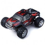 image of WLTOYS A979 1/18 SCALE 4WD 2.4GHZ RC TRUCK RACING 50KMH HIGH SPEED CAR MODEL (RED) -