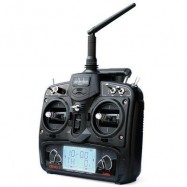 image of WALKERA DEVO 7 2.4GHZ 7 CHANNEL DEVENTION TRANSMITTER WITHOUT RECEIVER (BLACK) -