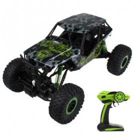 image of HB - P1001 1 / 10 SCALE 2.4G FOUR-WHEEL DRIVE RALLY CAR (GREEN) 43.00 x 26.00 x 22.00 cm