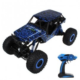 image of HB - P1001 1 / 10 SCALE 2.4G FOUR-WHEEL DRIVE RALLY CAR (BLUE) 43.00 x 26.00 x 22.00 cm