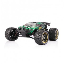 image of S912 1:12 SCALE 4CH 2.4G 40KM/H REMOTE CONTROL SHORT TRUCK OFF-ROAD CAR (GREEN) 58.00 x 37.00 x 53.00 cm
