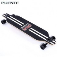image of PUENTE SILENT LONG SKATEBOARD ROLLER SCOOTER ENTERTAINMENT SPORT KIT (COLORMIX) -