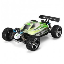 image of WLTOYS A959 - B 1 / 18 70KM/H 4WD OFF-ROAD VEHICLE 2.4G 540 BRUSHED MOTOR HIGH SPEED RC CAR (GREEN) -