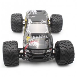 image of PXTOYS 9200 1:12 OFF-ROAD RC RACING CAR 40KM/H / 2.4GHZ 4WD / BRUSHED MOTOR (BLACK) 0