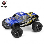 image of WLTOYS A323 1:12 SCALE 4CH 2.4G 2WD 30KM/H HIGH SPEED REMOTE CONTROL COMPETITION CAR RTR (BLUE) -