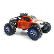 image of FEIYUE FY12 1:12 RC OFF-ROAD AMPHIBIOUS SPEED TRUCK 30KM/H / 2.4GHZ 4-WHEEL DRIVE / 390 STRONG MAGNETIC CARBON BRUSHED MOTOR (ORANGE) 0