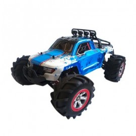 image of FEIYUE FY12 1:12 RC OFF-ROAD AMPHIBIOUS SPEED TRUCK 30KM/H / 2.4GHZ 4-WHEEL DRIVE / 390 STRONG MAGNETIC CARBON BRUSHED MOTOR (BLUE) 0