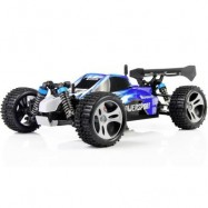 image of WLTOYS A959 2.4G 1/18 SCALE REMOTE CONTROL OFF-ROAD RACING CAR HIGH SPEED STUNT SUV (COLORMIX, US PLUG) US Plug