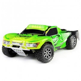 image of A969 2.4G 4WD 1/18 50KM/H RC SHORT COURSE TRUCK (GREEN) 29.00 x 17.50 x 10.50 cm