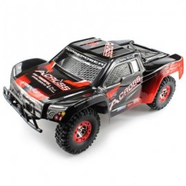 image of WLTOYS NO. 12423 1 / 12 2.4GHZ HIGH SPEED 4WD REMOTE CONTROL CAR (RED WITH BLACK) -