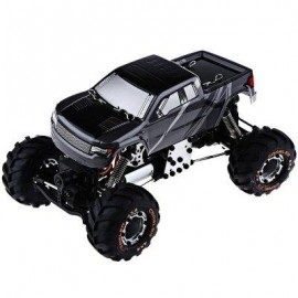 image of HBX 2098B 1 / 24 4WD SIMULATION RACING CAR 2.4G LIGHT WEIGHT RC TOY (BLACK) -