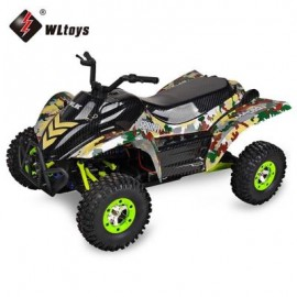 image of WLTOYS 12428 - A 1:12 RC WATER SCOOTER RTR 50KM/H / 2.4GHZ 4WD (COLORMIX) WITH LCD SCREEN TRANSMITTER