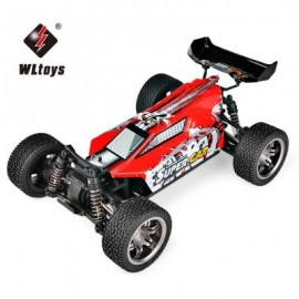 image of WLTOYS 12401 RC OFF-ROAD ELECTRIC CAR 1:12 SCALE 2.4G 4WD HIGH SPEED 45KM/H VEHICLE (RED) -