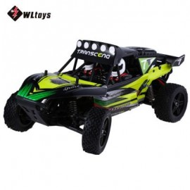 image of WLTOYS K959 2.4GHZ 1:12 2WD BRUSHED ELECTRIC RTR 40KM/H REMOTE CONTROL CLIMB TRUCK OFF-ROAD VEHICLE TOY (GREEN) -