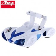 image of APP-CONTROLLED WIFI REAL-TIME TRANSMISSION SPY REMOTE CONTROL VEHICLE WITH CAMERA SUPPORT (BLUE) 28.00 x 18.00 x 7.00 cm