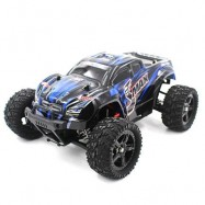 image of REMO HOBBY 1631 1:16 4WD RC BRUSHED TRUCK RTR 30 - 40KM/H / WATER-RESISTANT ESC (BLUE) -