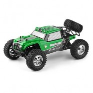 image of HBX 12889 THRUSTER 1:12 RC OFF-ROAD TRUCK RTR HIGH LOW SPEED / 2.4GHZ 4WD / DUAL SERVOS (GREEN) -