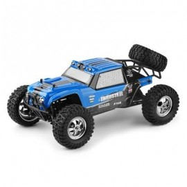 image of HBX 12889 THRUSTER 1:12 RC OFF-ROAD TRUCK RTR HIGH LOW SPEED / 2.4GHZ 4WD / DUAL SERVOS (BLUE) -