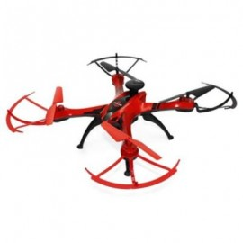 image of FEILUN FX176C2 GPS BRUSHED RC QUADCOPTER RTF WIFI FPV / WAYPOINTS / FOLLOW ME (RED) 2MP CAMERA