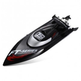 image of FEILUN FT012 2.4G 4CH BRUSHLESS RC RACING BOAT (BLACK) Standard