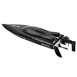 image of FT011 2.4G RC BOAT HIGH SPEED BRUSHLESS MOTOR BUILT-IN WATER COOLING SYSTEM 65.00 x 12.00 x 15.00 cm